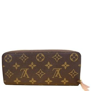LOUIS VUITTON CLEMENCE MONOGRAM CANVAS WALLET